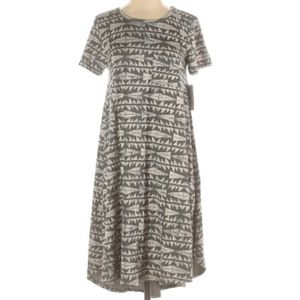 LulaRoe Carly Casual Dress Size Medium Aztec Print
